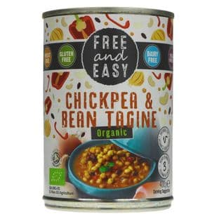Free & Easy Chick Pea & Bean Tagine - 400g